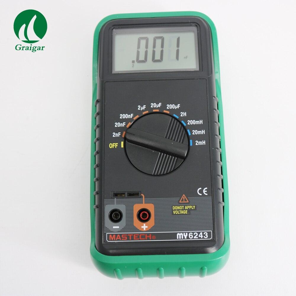 MASTECH MY6243 numérique LC C/L mètre Inductance testeur de capacité 21mm maximum écran LCD