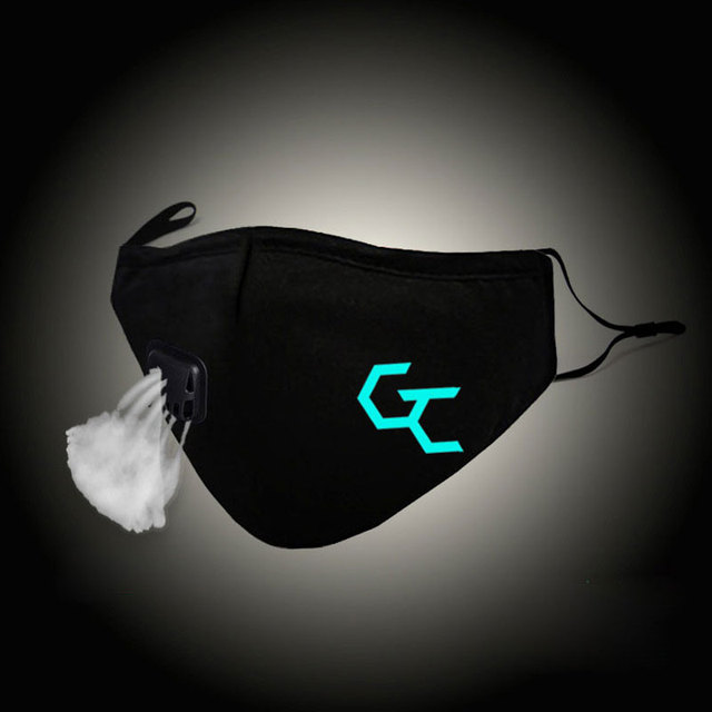 Glow In Dark Fashion Mask Guilty Crow Cosplay
