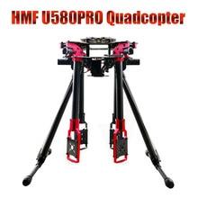 HMF U580Pro Tótem de Carbono Paraguas Plegable RC Quadcopter Rack y tren de Aterrizaje Retráctil Eléctrico DIY FPV F11067