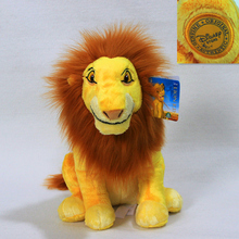 Sitting height 35cm=13.8inch Original The Lion King Simba Plush soft toys,1pcs Adult Simba Plush toy for baby gift