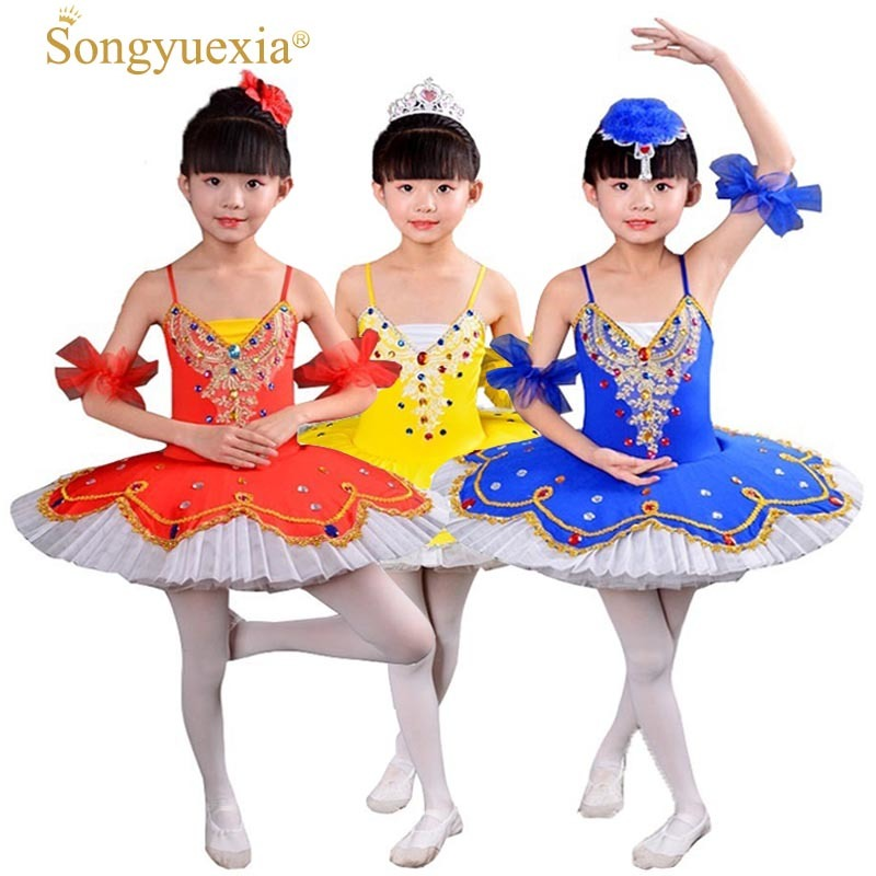 Sunny 2018 Promotion New Gymnastics Leotard Leotard Ballet Dress For Children Costume Professional Costumes Clothes For Girls Skirt Novelty & Special Use