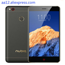 "Original zte nubia n1 4g lte handy mtk6755 octa-core 5,5 ""1080 P 3G RAM 64 GB ROM 13.0MP 5000 mAh Fingerabdruck handy"