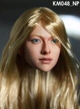 """1/6 Headplay Figure Féminine Tête Sculpture Modèle Belle Fille 048_NP Chef Sculpt Pour 12 """"Action Figure Poupée Jouets"""