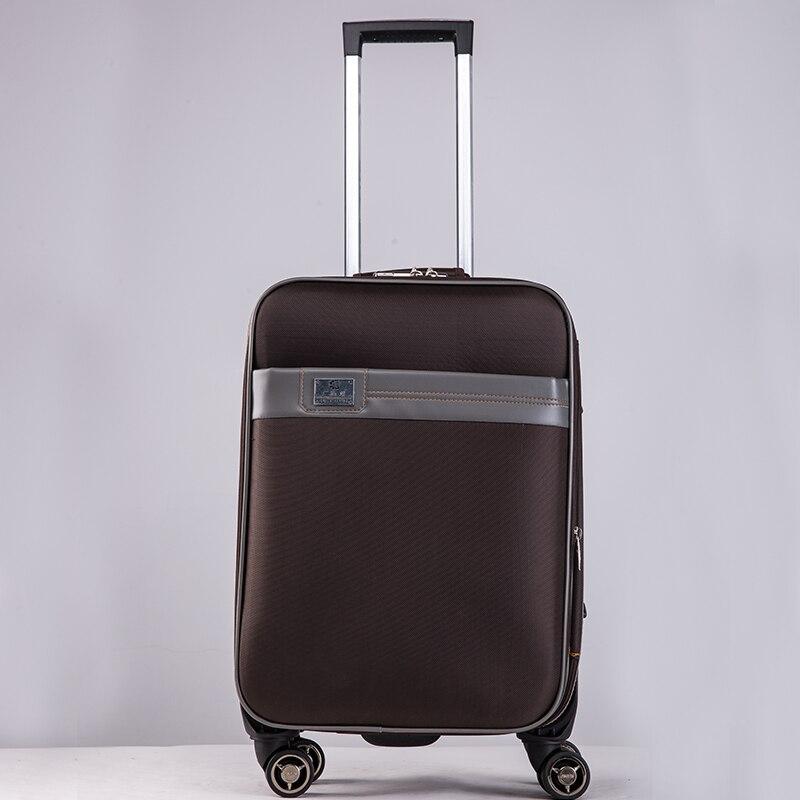 Nouveau Vintage bagages voyage trolley valise sac femmes homme oxford étanche affaires rouler sacs avec roues livraison gratuite