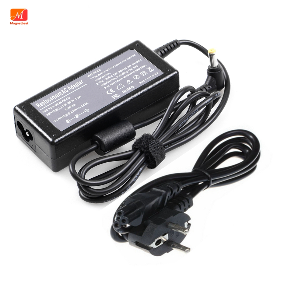 "19V 3.42A Power Supply Charger For #""JBL""  Xtreme portable speaker 65W 19V 3A AC DC Adapter with ac cable(China)"