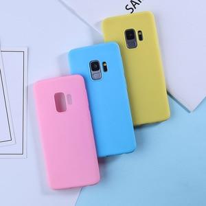 Image 3 - Luxury Case For Samsung Galaxy S9 Cases Candy Color TPU Cover For Samsung Galaxy S8 S9 A5 A3 2017 A8 S10 S10e Plus A7 2018 Plus