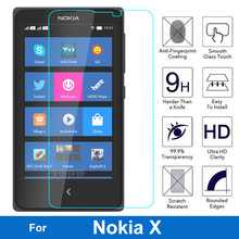 For Microsoft Nokia X Tempered Glass 2.5D 9H Screen Protector Safety Protective
