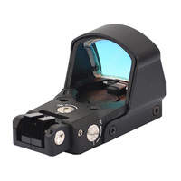 SEIGNEER Tactical DP Pro Red Dot Point Sight Compact Reflex Airsoft Hunting Sight Low Parallax Picatinny Rail
