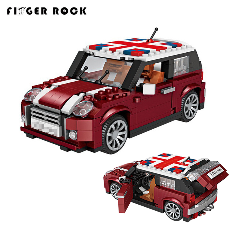 1 24 mini cooper car model building blocks technic mini. Black Bedroom Furniture Sets. Home Design Ideas