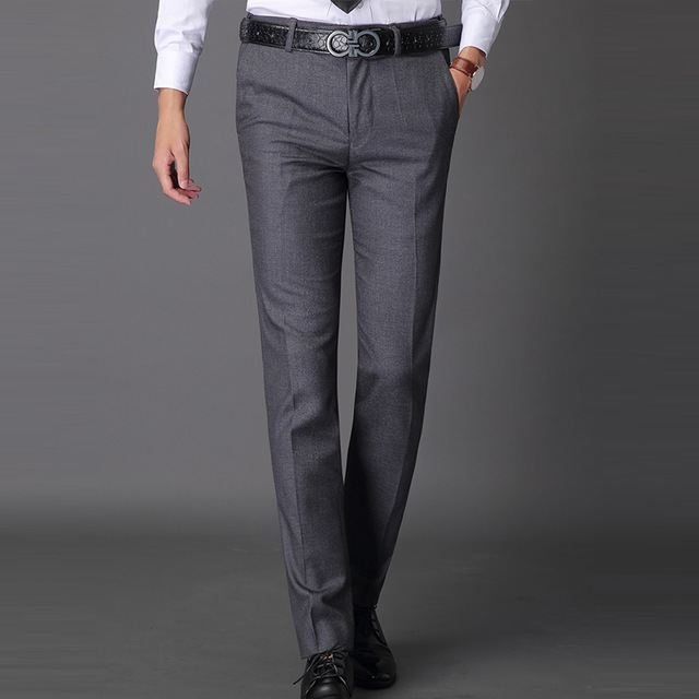 Plus Size 28 42 Pants Mens High Quality Men Dress Pants Summer Thin