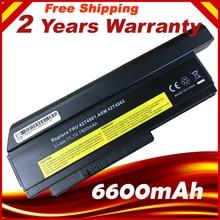 Batería de 9 celdas para portátil, precio especial, 6600mAh, para LENOVO ThinkPad X220 X220i 42T4901 42T4940 42T4942 ASM 42T4862 FRU 42T4861