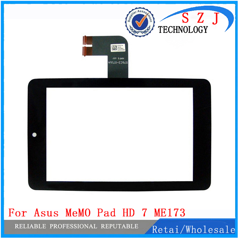 New 7 inch case For Asus MeMO Pad HD 7 ME173 ME173X K00B K00U Touch Screen panel with Digitizer free shipping beautiful gitf new luxury stand case cover for asus memo pad 7 me176c me176cx tablet wholesale price jan16