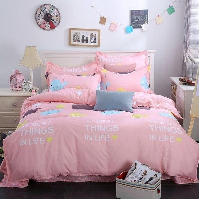 Us 364 35 Offägyptischer Baumwolle Bettwäsche Grau Blau Rosa Hohe Qualität Bettwäsche Set Bettbezug Bettlaken Kissenbezug Hochzeit
