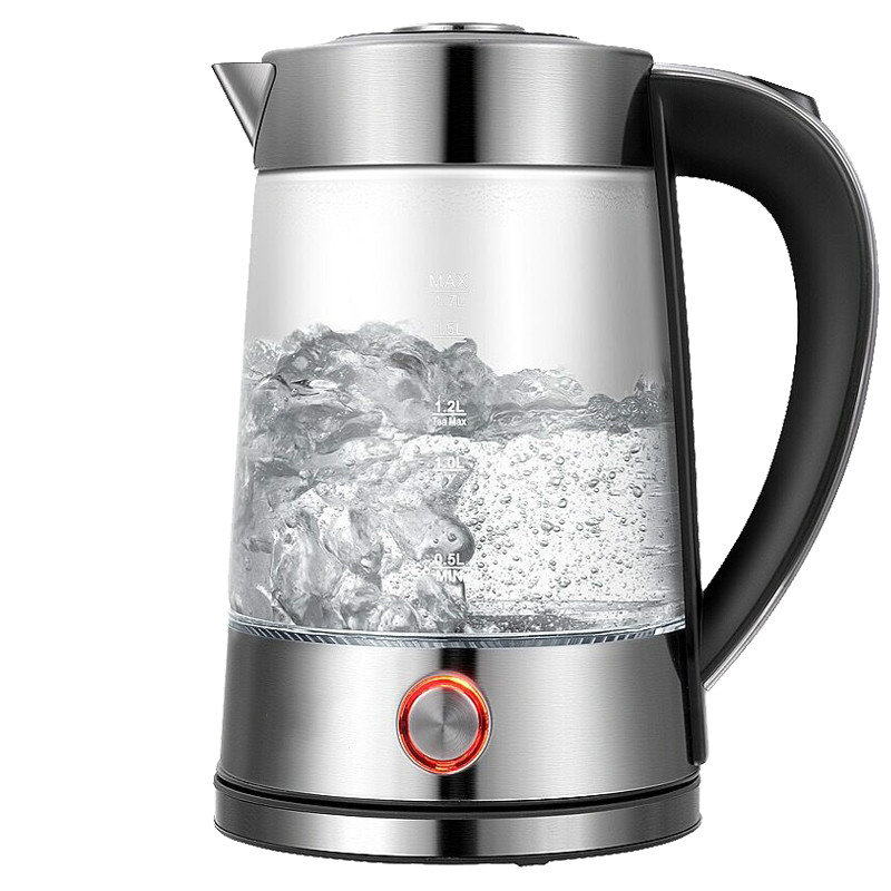 Electric kettle The glass electric is used to boil water and the automatically cuts off stainless steel electric kettle is used to boil water 304 stainless steel