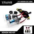 YUMSEEN H13 Xenon Hid Kit 35 W 6000 K DC12V Con Slim de lastre Auto Moto HID Xenon Luces de repuesto Tipo Universal para jeep