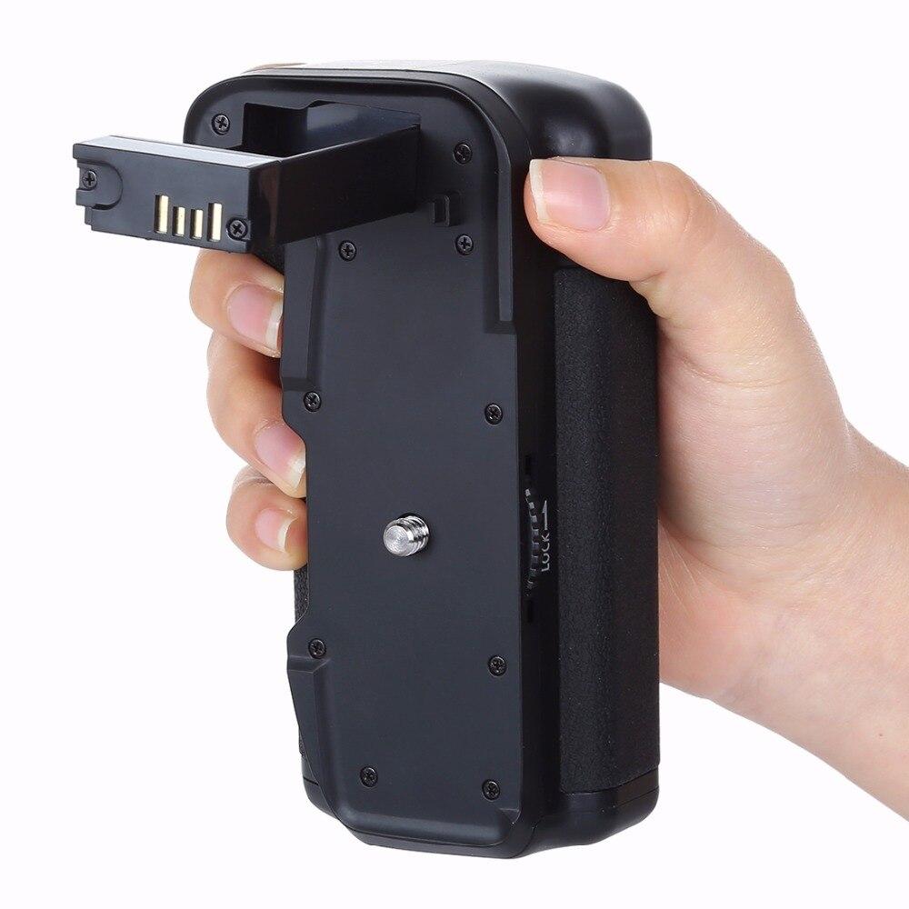Poignée de batterie de caméra verticale PULUZ pour Canon EOS 800D/rebelle T7i/77D - 5