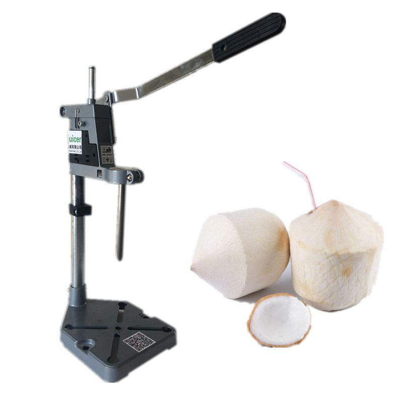 Thailand easy open coconut machine hand press coconut opening machine coconut cowboy