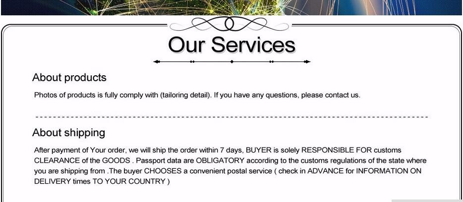 Service information 1