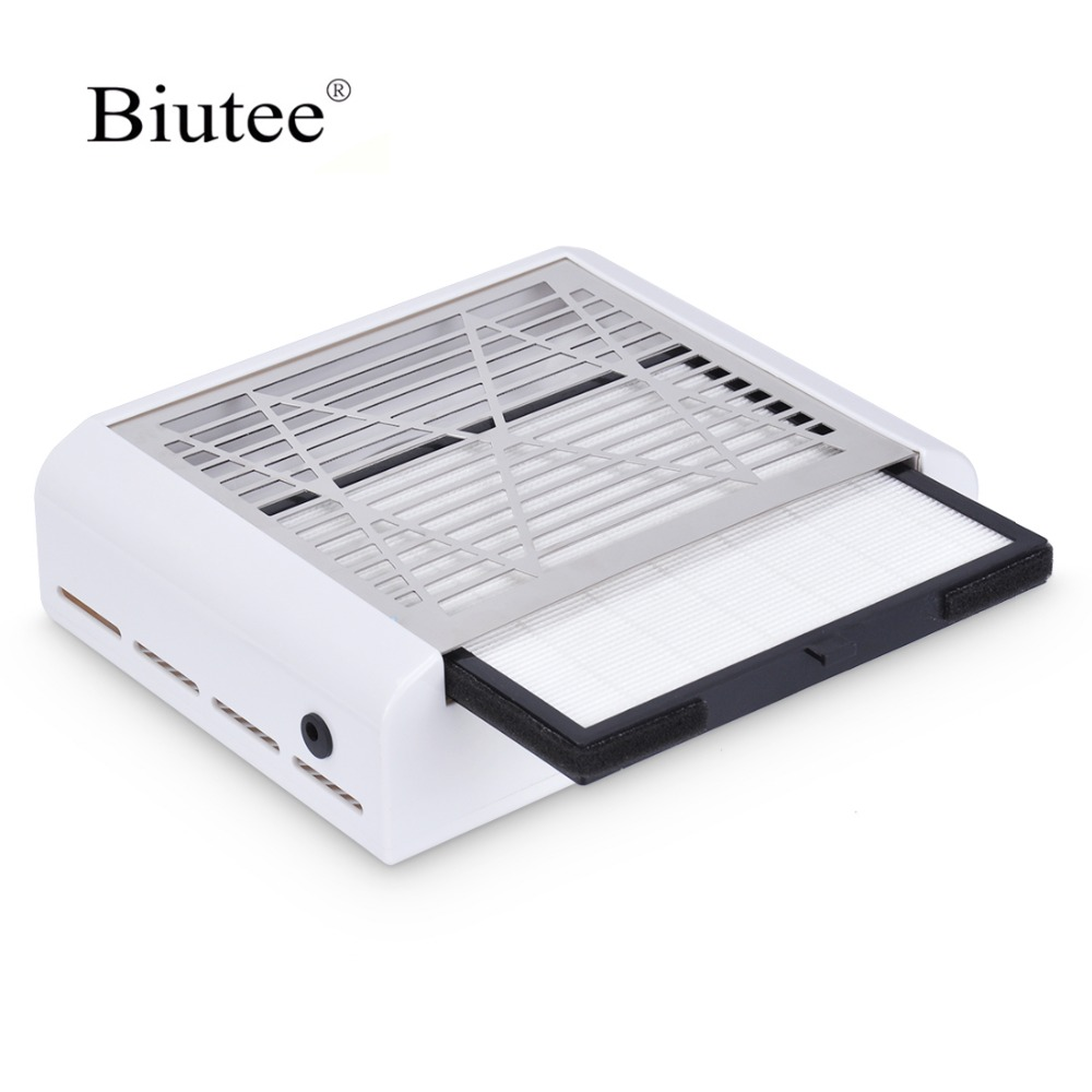 Biutee 2019 New Strong Power 40W Nail Dust Collector Vacuum Cleaner Fan Nail Fan Art Salon Suction Dust Collector Nail MachineBiutee 2019 New Strong Power 40W Nail Dust Collector Vacuum Cleaner Fan Nail Fan Art Salon Suction Dust Collector Nail Machine
