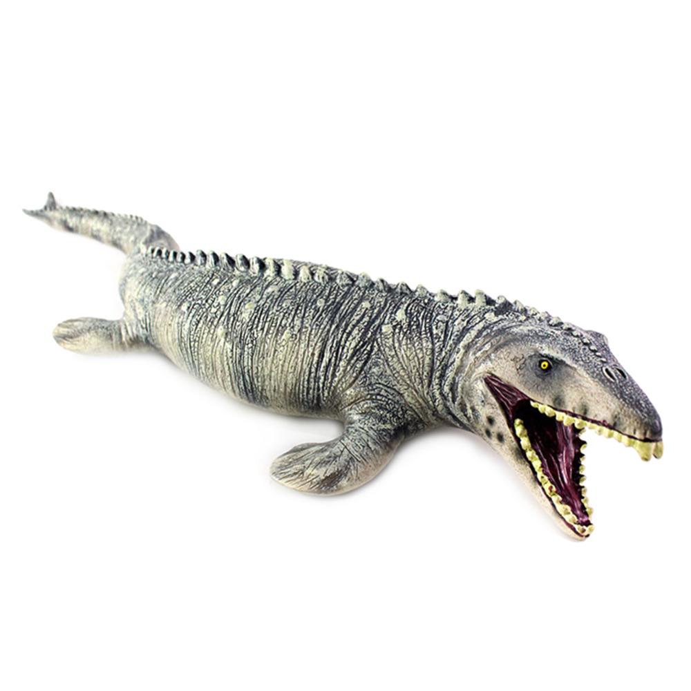 Simulation big mosasaurus dinosaur toy soft pvc hand painted model dinosaur FOHN