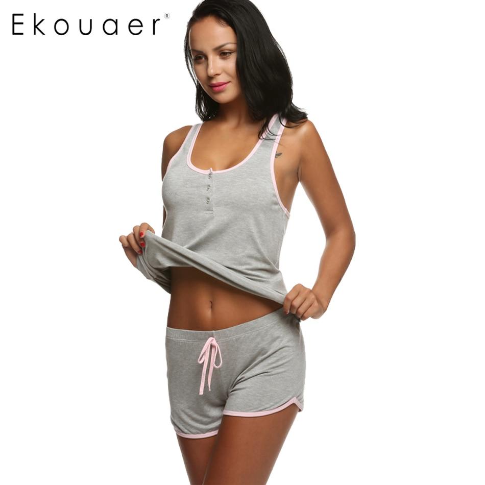 Online Buy Wholesale womens short pajamas from China womens short ...