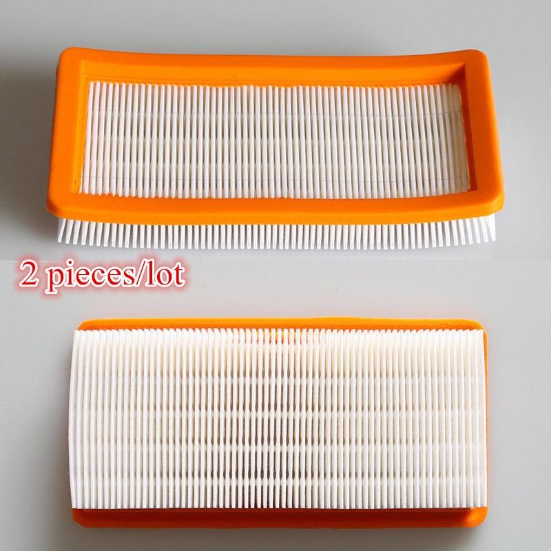 2 pcs/lot Vacuum Cleaner Parts HEPA filter for karcher DS5600 DS5800 DS5500 DS6000 Robot Vacuum Cleaner 6.414-631.0 Filters