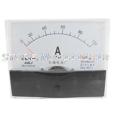 44L1-A 100x80mm Paneli AC 0-100A AMP Analog Ampermetre44L1-A 100x80mm Paneli AC 0-100A AMP Analog Ampermetre