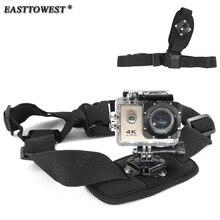 GoPro Accessories Shoulder Belt Single Shoulder Strap Mount Chest Harness Belt Adapter For Gopro Hero 4 3 3+ 2 SJ4000