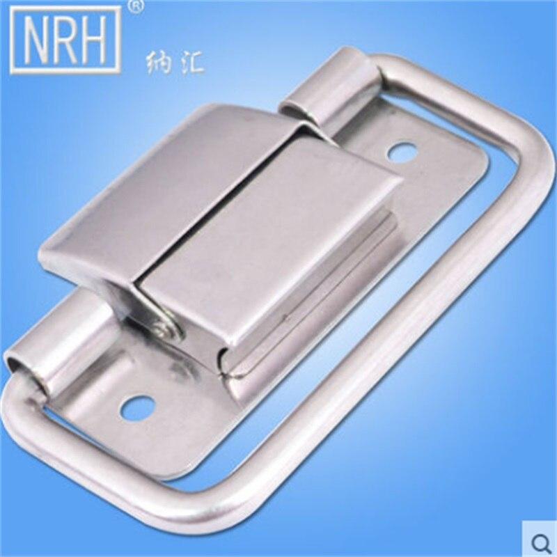 Adorno en la cintura cierro hebilla 2,4 cm de plata mercancía nueva inoxidable #165#