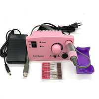 Pro 35000 RPM 25W Electric Nail Drill Machine Diamond Nail File Drill Machine Maniure And Pedicure Drill Polish Bits Tools Kits