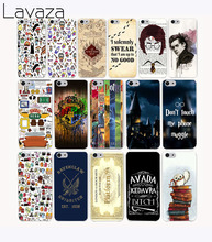 Lavaza 259CA Pretty interesting Harry Potter Hard Transparent Case Cover for iPhone 7 7 plus 4 4s 5 5s 5c SE 6 6s Plus case(China)