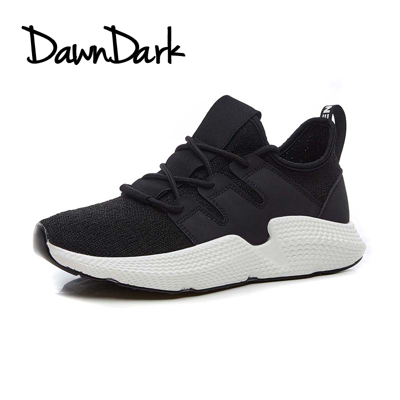 New Arrival Men Shoes Sport Running Lace Up Black White Man Walking Jogging Footwear Comfortable Mens Running Trainers ...