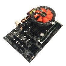 Intel G41 настольная материнская плата cpu набор с четырехъядерным процессором 2,66G cpu i5 core+ 4G Memory+ Fan ATX компьютерная материнская плата набор для сборки