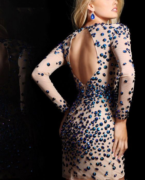 Sexy-Sequins-Sleeve-V-Neck-Cocktail-Dresses-2016-New-Style-Mini-Short-Party-Dresses-With-Ctystal