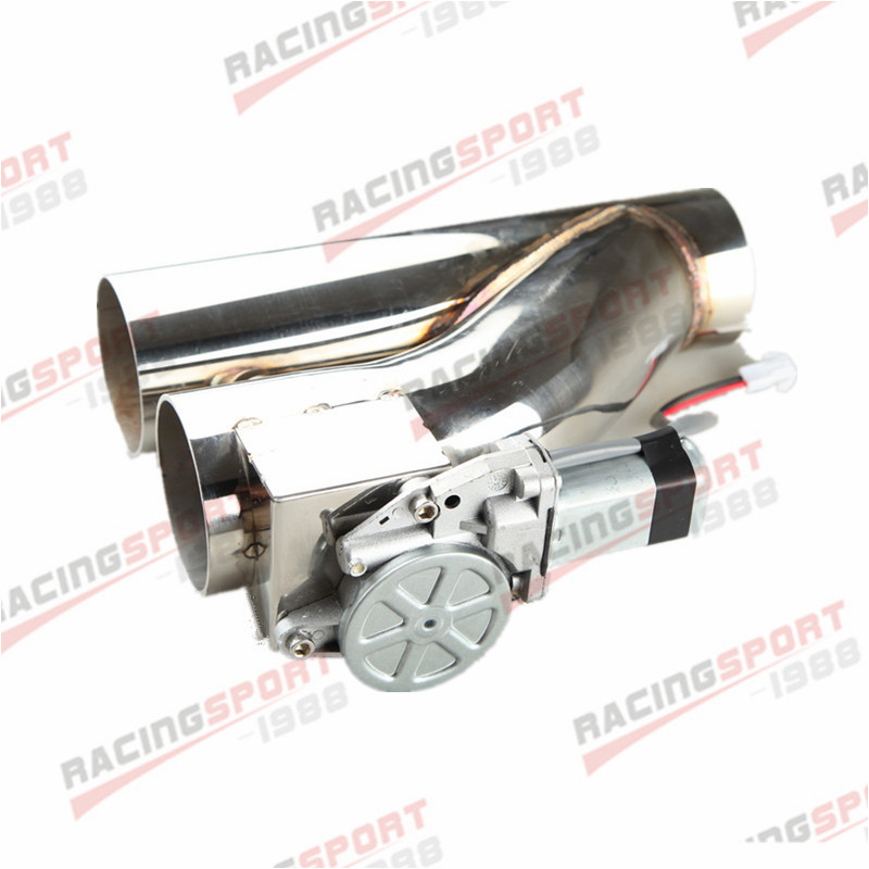 US 3 76mm Exhaust Downpipe Testpipe Catback Electric Cutout Kit Switch ControlUS 3 76mm Exhaust Downpipe Testpipe Catback Electric Cutout Kit Switch Control