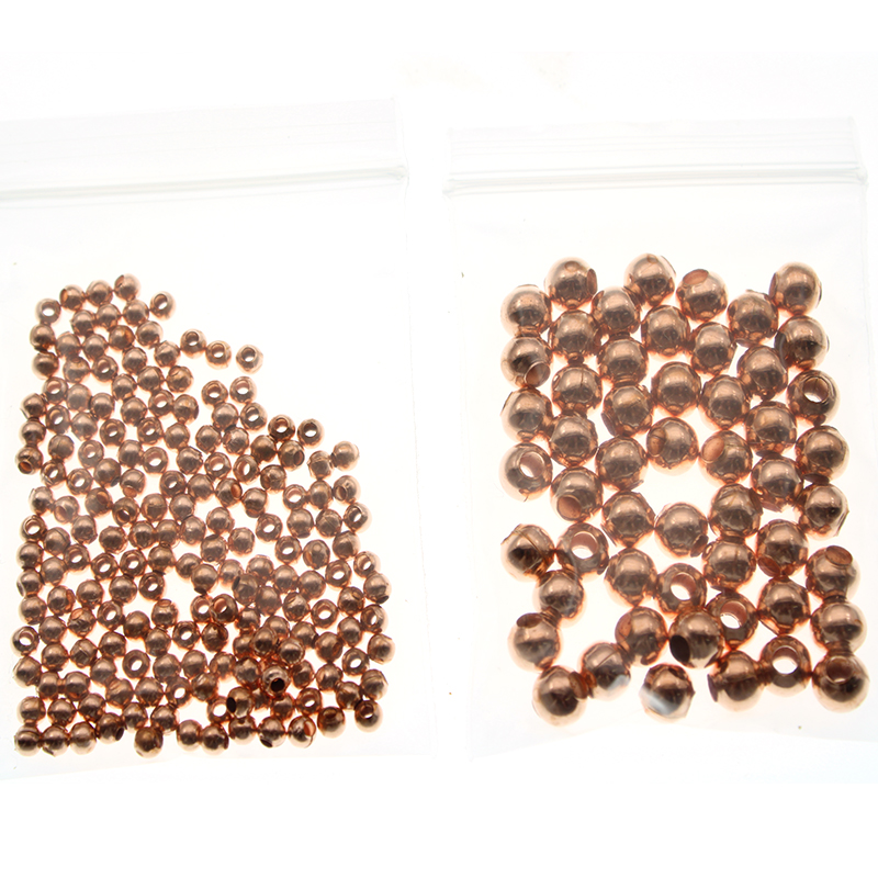 Gold Fenteer 100pcs Girl/'s Chic Necklace Bracelets Daisy Flower Spacer Beads 4mm DIY Making Findings Crafts Gifts