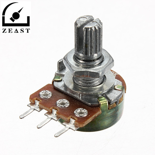 Electronic Components & Supplies Careful 5 Pcs Wth118 1a Potentiometer 2w 220k Potentiometer Variable Resistor Diy Electronic Variable Resistor Diy Electronic