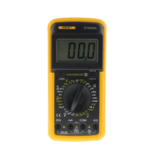 Professional DT9205A 1999 Counts LCD Display Multimeter Electric Handheld AC/DC Resistance Capacitance Voltmeter Ammet
