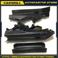 3x Engine Upper Compartment Partition Panel Set 51717169420 51717169421 for BMW X5 X6 E70 E71 2006 2010 2011 2012 2013