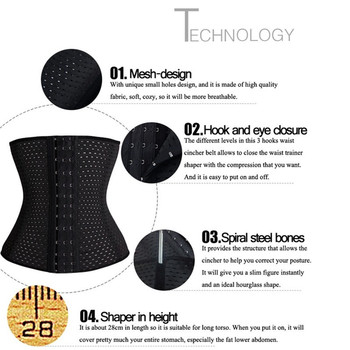 SEXYWG Women Yoga Shirts Fitness Sport Breathable Waist Trainer Modeling Belt Body Shaper Tummy Pulling Underbust Belly Band 1