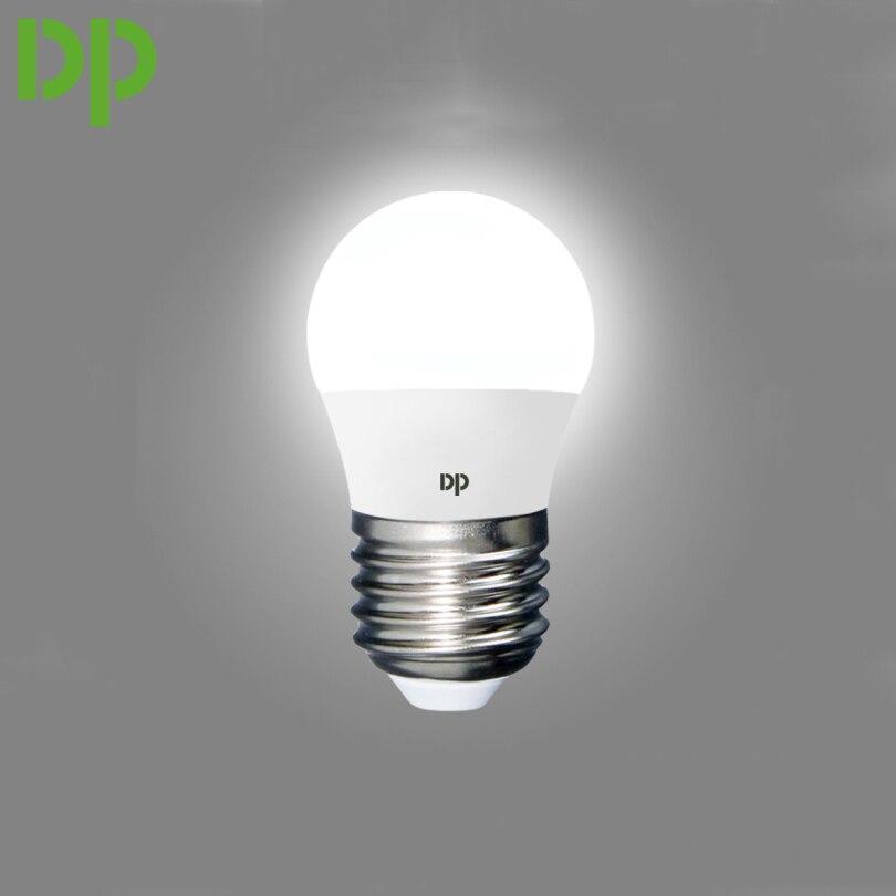 2 pcs/lot Duration Power 3W efficient lightbulb Super mini 160 - 240V energy saving light bulbs long working time