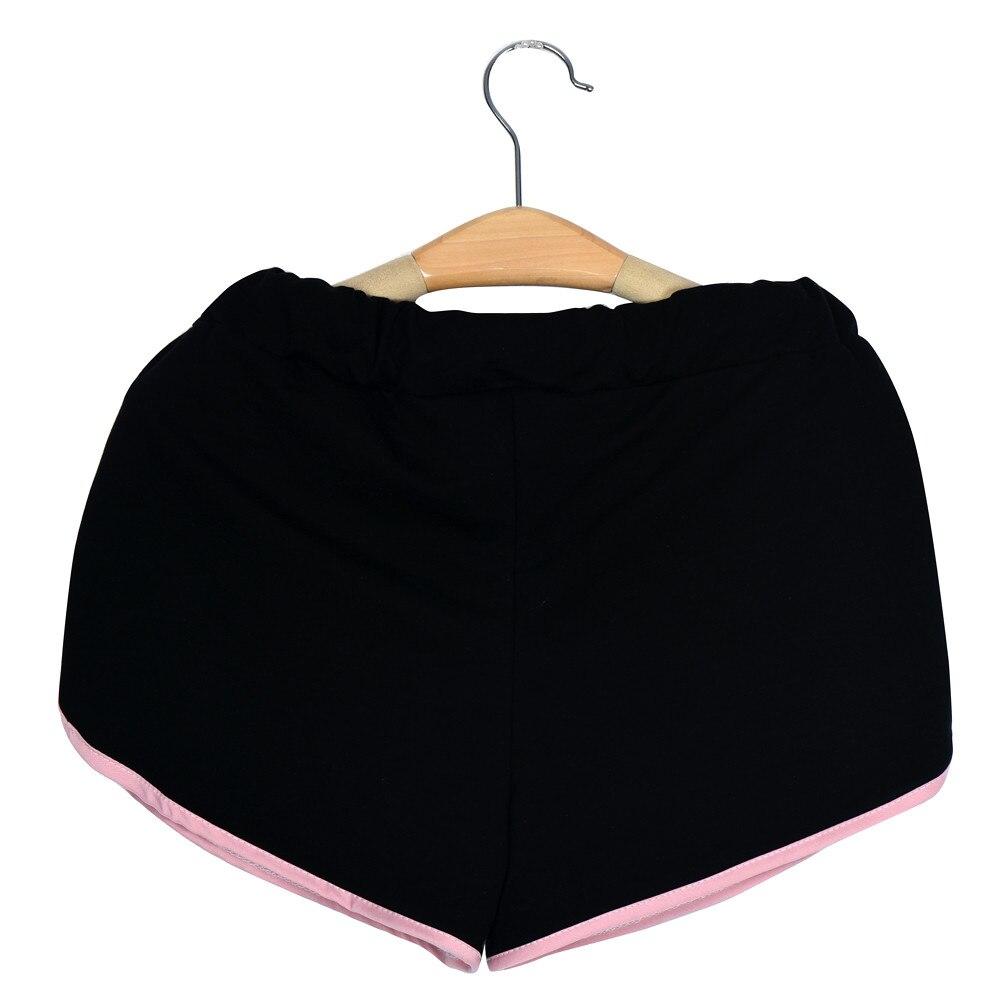 Womail Brand Lowest Price Swimwear Women Women Cotton Sports Shorts Binding Side Elastic Waist Running Shorts Pants