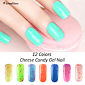 8ml candy Cheese UV Gel Polish Nail Soak Off UV Led Gel Paint Varnish Lacquer nail art professional vernis semi permanent