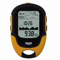 Outdoor Multifunction LCD Digital Compass Camping Altimeter Waterproof Travel Swimming Barometer Thermometer Hygrometer