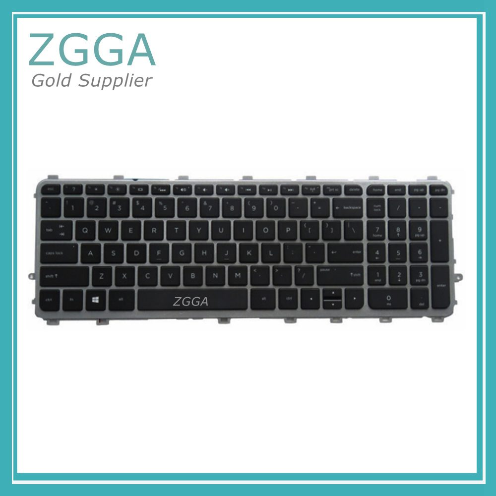 NEW US English Keyboard for HP ENVY TouchSmart 15 j 15T J 15Z J 15 j000 15t j000 15t j100 15z j000 15 j151sr No Frame Backlight