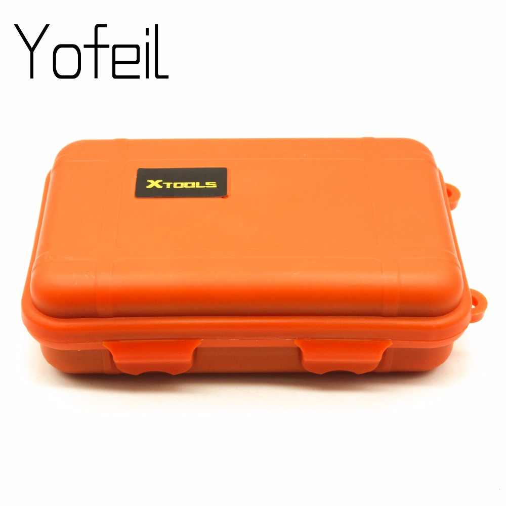 Outdoor Waterproof Shockproof Airtight Survival Tool Case Container Storage Box