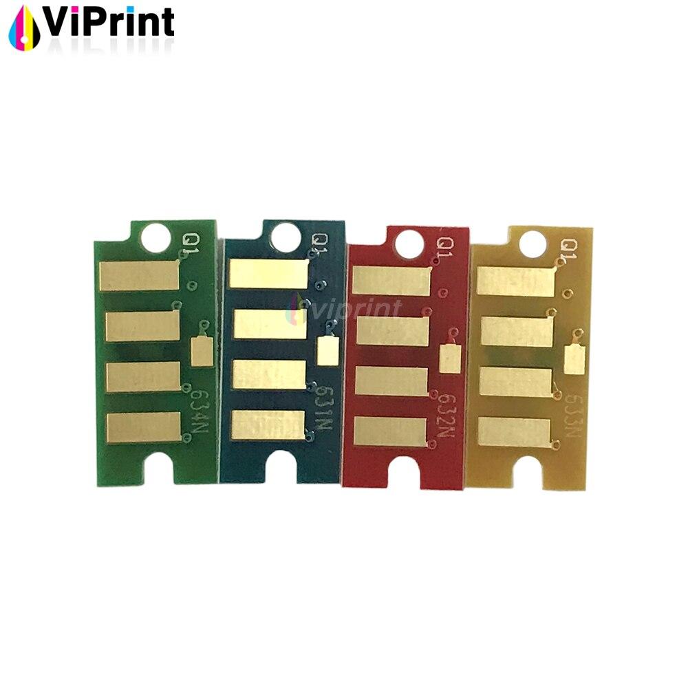 4 x чип тонер-картриджа для Xerox Phaser 6000 6010 Workcenter 6015 6015v цветной порошок для лазерного принтера заправка чипа тонера