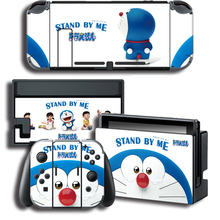 Vinyl Cover Decal Skin Sticker for Doraemon skins  For Nintendo Switch For NS Gaming Console + Controller Decal Cover Sticker