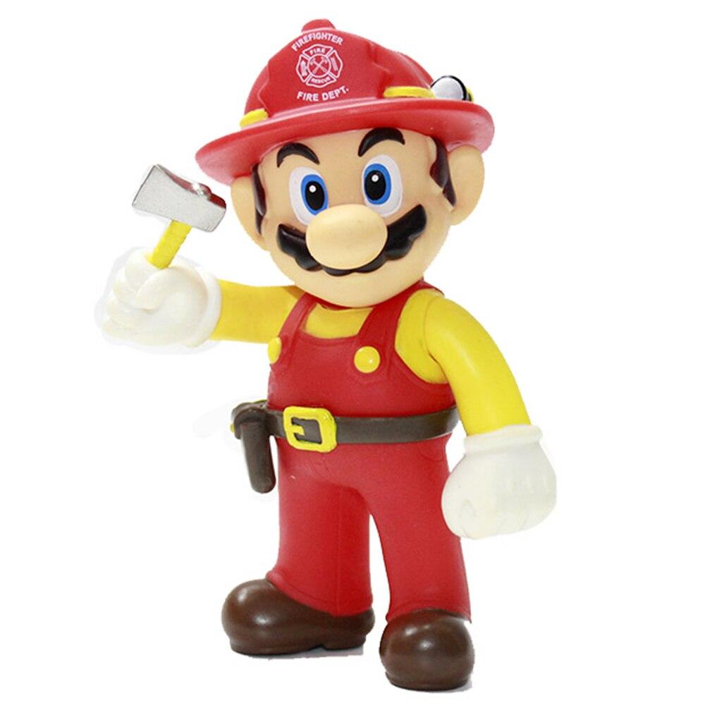 Best Promo 551f 10pcs Lot 13cm Super Mario Bros Odyssey Cappy