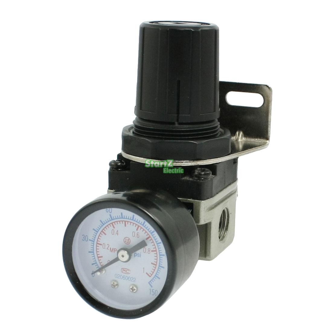 AR2000-02 G1/4'' SMC Type Pneumatic mini air pressure regulator air treatment units sns regulator pressure reducer valve pneumatic components ar2000 airtac type